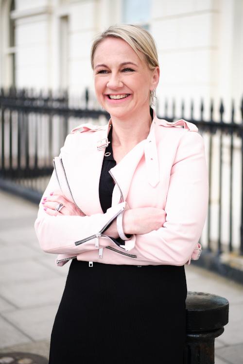 Emily pink jacket