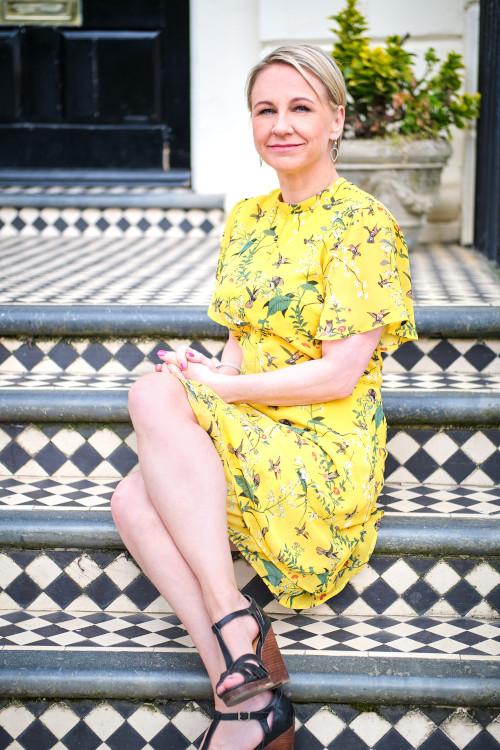 Emily yellow dress